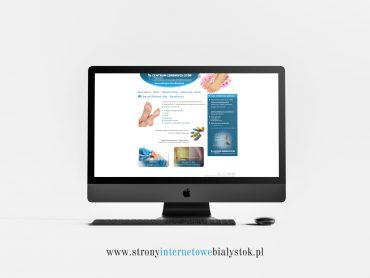 Strony Internetowe Białystok – Centrum Zdrowych Stóp