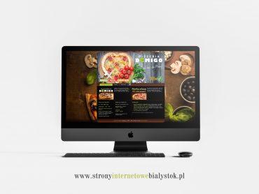 Strony Internetowe Białystok – Pizzeria Domigo