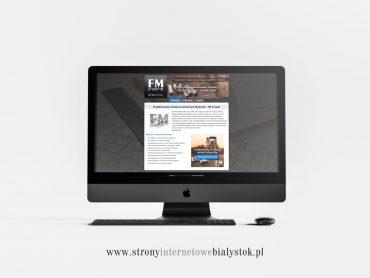 Strony Internetowe Białystok – FM Projekt
