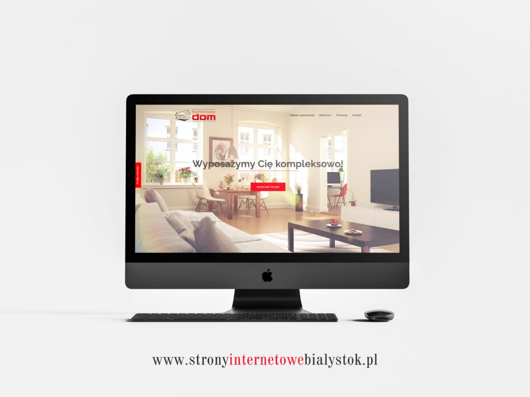 Strony Internetowe Białystok – Komfortowy Dom