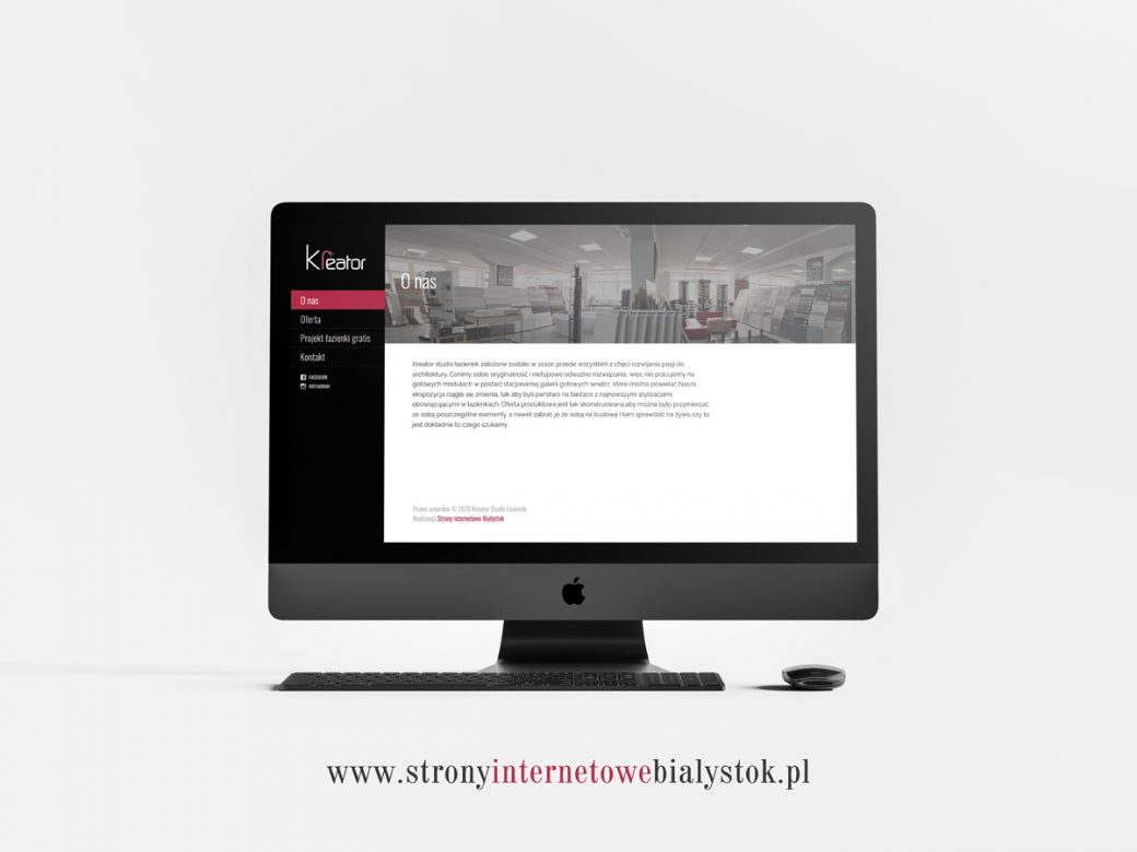 Strony Internetowe Białystok – Kreator