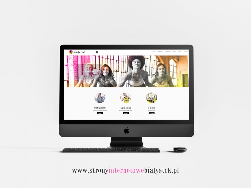 Strony Internetowe Białystok – Lady Fit