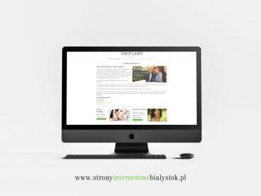Strony Internetowe Białystok – Oriflame Starachowice