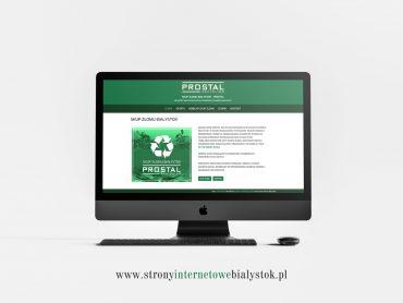 Strony Internetowe Białystok – Prostal Skup Złomu Białystok