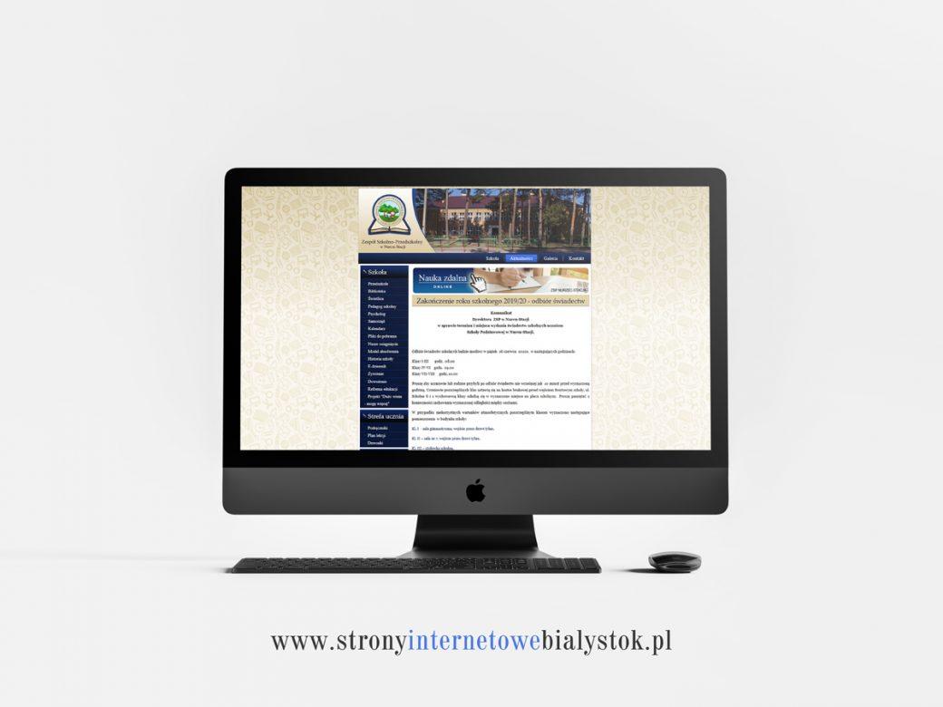 Strony Internetowe Białystok – ZSP Nurzec-Stacja
